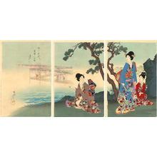 豊原周延: Ocean Side - Japanese Art Open Database