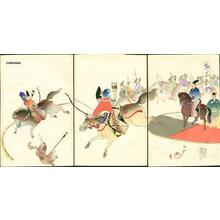 豊原周延: Dog hunting - Japanese Art Open Database