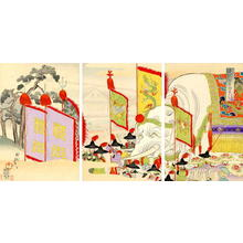 Toyohara Chikanobu: A Gift from the Emperor of China - Japanese Art Open Database