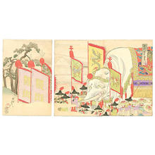 豊原周延: A Gift from the Emperor of China - Japanese Art Open Database