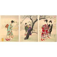 Toyohara Chikanobu: Spring - Japanese Art Open Database