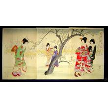 Toyohara Chikanobu: Spring - Japanese Art Open Database