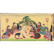 Toyohara Chikanobu: Wedding - Japanese Art Open Database