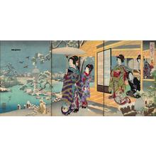 Toyohara Chikanobu: Winter - Japanese Art Open Database