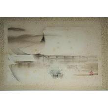 Domoto Insho: Temple in Snow - Japanese Art Open Database