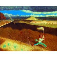 Du Baoyin: Memory of Childhood No 5 - Japanese Art Open Database