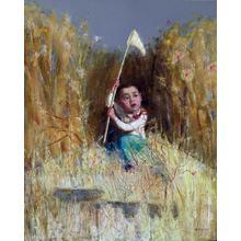 Du Baoyin: Memory of Childhood No 6 - Japanese Art Open Database