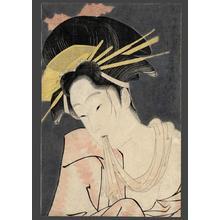 Eiri: Kashiku of the Tsuru Green House - Japanese Art Open Database
