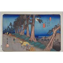 歌川広重: Mochizuki — 望月 - Japanese Art Open Database