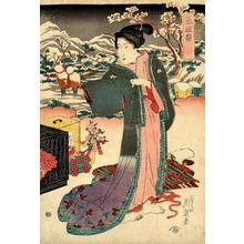 渓斉英泉: Akasaka - Japanese Art Open Database