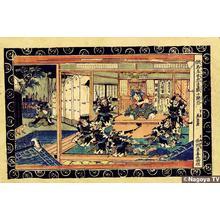 Keisai Eisen: Act 10, Amanogawaya - Japanese Art Open Database