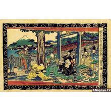 渓斉英泉: Act 1, Preface, Tsurugaoka, Kabuto Aratame - Japanese Art Open Database
