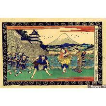 Keisai Eisen: Act 3 Kamakura Jidaikan, Bloodshed - Japanese Art Open Database