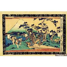 渓斉英泉: Act 8, The Bride on her Way - Japanese Art Open Database