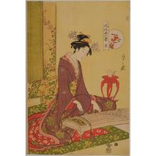細田栄之: The Koto — 琴 - Japanese Art Open Database