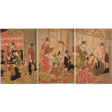 細田栄之: Good and Evil Spirits — 善玉悪玉 - Japanese Art Open Database
