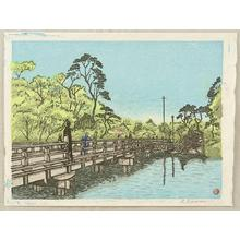 Kasamatsu Shiro: Benkei Bridge - Japanese Art Open Database
