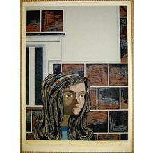 Kitaoka Fumio: Girl 122 - B - Japanese Art Open Database