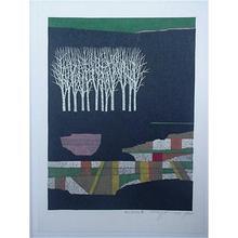 Kitaoka Fumio: Trees - Japanese Art Open Database
