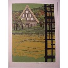 北岡文雄: Unknown, house, farm - Japanese Art Open Database