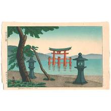 Gihachiro Okuyama: Miyajima in the Morning - Japanese Art Open Database
