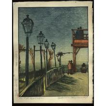 Gihachiro Okuyama: Montmartre - Japanese Art Open Database