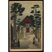 Gihachiro Okuyama: Untitled- church - Japanese Art Open Database