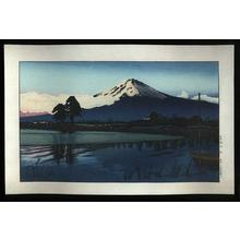 Gihachiro Okuyama: View of Mt. Fuji - Japanese Art Open Database