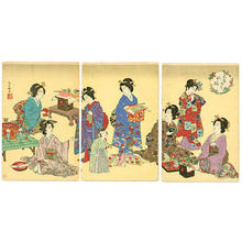 安達吟光: Party - Japanese Art Open Database