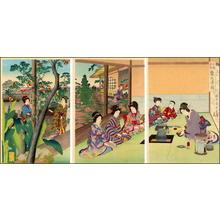 安達吟光: Tea ceremony - Japanese Art Open Database