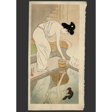 Hashiguchi Goyo: Hot Springs Inn - Japanese Art Open Database