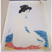 橋口五葉: Woman after a Bath — 化粧の女 - Japanese Art Open Database