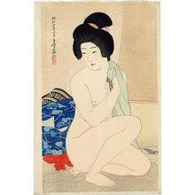Hakuho Hirano: After a Bath - Japanese Art Open Database