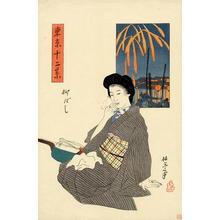 Ishii Hakutei: Yanagibashi - Japanese Art Open Database