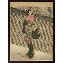 鈴木春信: Bijins viewing Plum Blossoms - Japanese Art Open Database