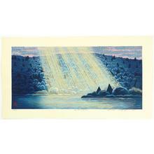 Hayashi Waichi: Filtering Light at Lakeside - Japanese Art Open Database