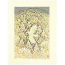 Hayashi Waichi: Flying over Forest - Japanese Art Open Database