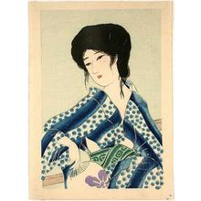 Hirezaki Eiho: Bijin 1 - Japanese Art Open Database