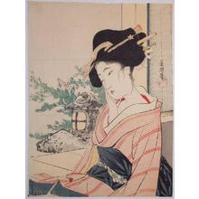 Hirezaki Eiho: Beauty and Garden - Japanese Art Open Database