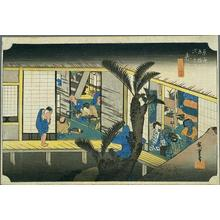 歌川広重: Akasaka - Japanese Art Open Database