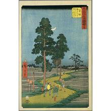 歌川広重: Akasaka - Japanese Art Open Database