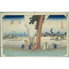 歌川広重: Hamamatsu - Japanese Art Open Database