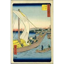 Utagawa Hiroshige: Kuwana - Japanese Art Open Database