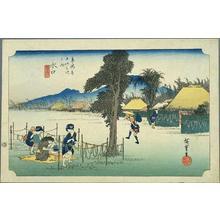 歌川広重: Minakuchi - Japanese Art Open Database