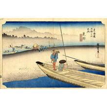 Utagawa Hiroshige: Mitsuke - Japanese Art Open Database
