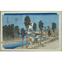 Utagawa Hiroshige: Namazu - Japanese Art Open Database
