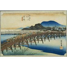 Utagawa Hiroshige: Okazaki - Japanese Art Open Database