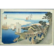 Utagawa Hiroshige: Shinagawa - Japanese Art Open Database