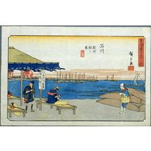 歌川広重: Shinagawa - Japanese Art Open Database