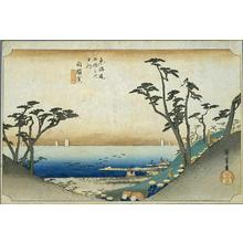 歌川広重: Shirasuka - Japanese Art Open Database